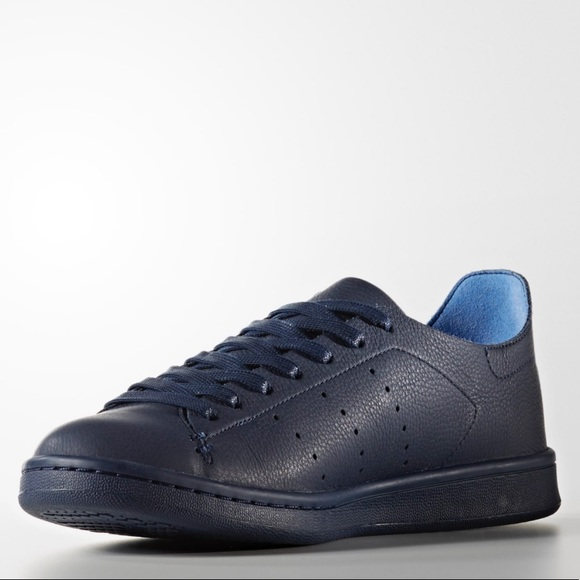 new product 672c7 55d9f New - Adidas Stan Smith Leather Sock Shoes